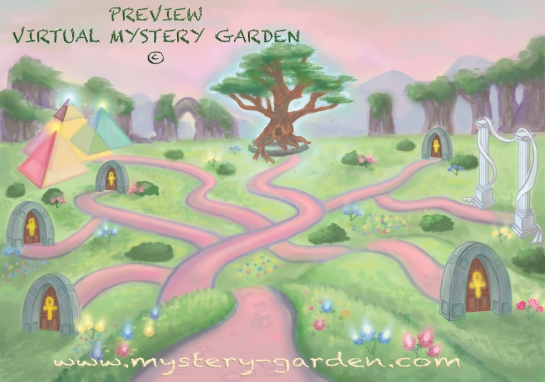 VIRTUAL MYSTERY GARDEN © Unique Concept & Brand 2011-2014
