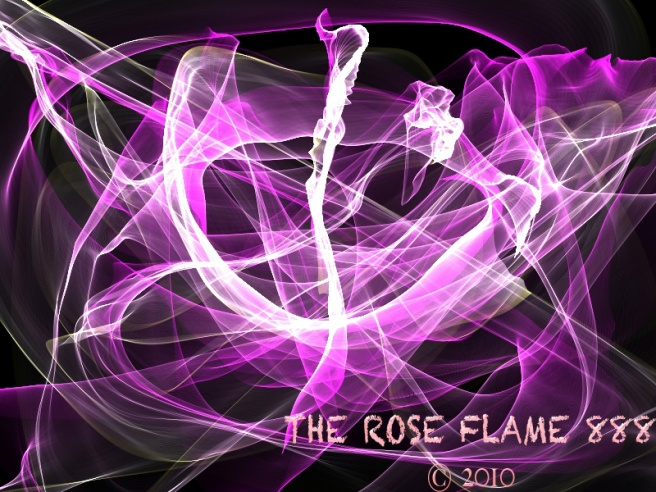 THE ROSE FLAME 888 © Copyrighted Official Song Title & Story